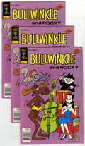 Bronze Age (1970-1979):Cartoon Character, Bullwinkle #18 Group (Gold Key, 1977) Condition: Average VF/NM. Lotof five copies of Bullwinkle #18. Approximate Overst... (Total: 5Comic Books)