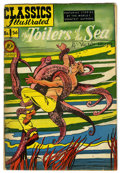 Golden Age (1938-1955):Classics Illustrated, Classics Illustrated #56 The Toilers of the Sea (Gilberton, 1949) Condition: VG+. First edition. HRN 55. August Froehlich co...