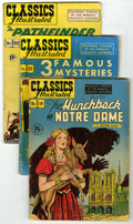 Golden Age (1938-1955):Classics Illustrated, Classics Illustrated Group (Gilberton, 1944-51) Condition: AverageVG-. Group of ten Classics Illustrated books includes... (Total:10)
