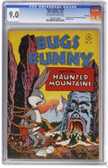 Golden Age (1938-1955):Miscellaneous, Four Color #142 Bugs Bunny and the Haunted Mountain File Copy (Dell, 1947) CGC VF/NM 9.0 Off-white to white pages. Bondage c...
