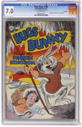 Golden Age (1938-1955):Funny Animal, Four Color #164 Bugs Bunny Finds the Frozen Kingdom File Copy(Dell, 1947) CGC FN/VF 7.0 Off-white to white pages. Overstree...