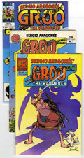 Modern Age (1980-Present):Humor, Groo the Wanderer Group (Marvel/Others, 1984-91) Condition: AverageVF. Pacific Comics Groo The Wanderer #1 (six copies)... (Total:325)
