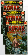 Bronze Age (1970-1979):Miscellaneous, Korak, Son of Tarzan #49 Group (DC, 1972) Condition: Average VF.Lot consists of twenty issues of Korak, Son of Tarzan #... (Total:20)