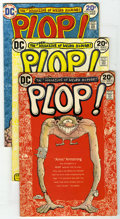 Bronze Age (1970-1979):Humor, Plop! Group (DC, 1973-76). Group of 21 issues of Plop contains #1(Sergio Aragones art begins -- Bernie Wrightson art), ... (Total:21)