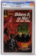 Bronze Age (1970-1979):Horror, Ripley's Believe It Or Not #34 File Copy (Gold Key, 1972) CGC NM9.4 Off-white to white pages. Painted cover. Luis Dominguez...