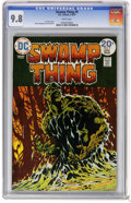 Bronze Age (1970-1979):Horror, Swamp Thing #9 (DC, 1974) CGC NM/MT 9.8 White pages. BernieWrightson cover and art. Overstreet 2006 NM- 9.2 value = $40. CG...