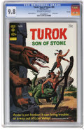 Bronze Age (1970-1979):Miscellaneous, Turok #89 File Copy (Gold Key, 1974) CGC NM/MT 9.8 Off-white towhite pages. Painted cover. Alberto Giolitti art. Overstreet...