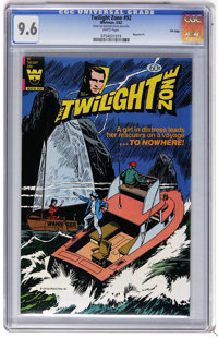 Twilight Zone #92 File Copy (Whitman, 1982) CGC NM+ 9.6 White pages. Last issue. Reprints Twilight Zone #1. Overstreet 2...