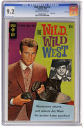 Silver Age (1956-1969):Adventure, Wild, Wild West #4 File Copy (Gold Key, 1968) CGC NM- 9.2 Off-white to white pages . Robert Conrad and Ross Martin photo cov...