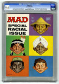 """Magazines:Mad, Mad #111 (EC, 1967) CGC NM 9.4 Off-white to white pages. """"I Spy"""" TVspoof. Norman Mingo cover. Mort Drucker, Don Martin, Al ..."""