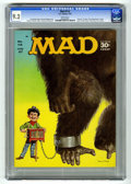 "Magazines:Mad, Mad #112 (EC, 1967) CGC NM- 9.2 White pages. Beatles spoof.""Tarzan"" TV satire. ""The Professionals"" movie satire. Norman Min..."