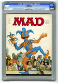 """Magazines:Mad, Mad #114 (EC, 1967) CGC VF+ 8.5 Off-white to white pages. """"Rat Patrol"""" satire. Dr. Seuss spoof. Norman Mingo cover. Mort Dru..."""