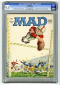 Magazines:Mad, Mad #117 (EC, 1968) CGC NM- 9.2 Off-white to white pages. CharlieBrown spoof. Letter from (and photo of) William Shatner an...