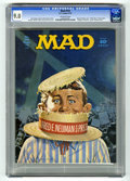"Magazines:Mad, Mad #153 (EC, 1972) CGC VF/NM 9.0 Off-white pages. ""Dirty Harry"" movie spoof. ""Religion in America"" primer. Norman Mingo cov..."
