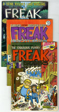 Bronze Age (1970-1979):Alternative/Underground, The Fabulous Furry Freak Brothers Group (Rip Off Press, 1971-85). Group of five issues of The Fabulous Furry Freak Brother... (Total: 5)