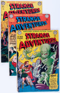 Golden Age (1938-1955):Science Fiction, Strange Adventures Group (DC, 1951-52).... (Total: 8 Items)