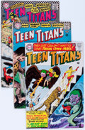 Silver Age (1956-1969):Superhero, Teen Titans #1-53 Group (DC, 1966-78) Condition: Average VG....(Total: 53 Comic Books)