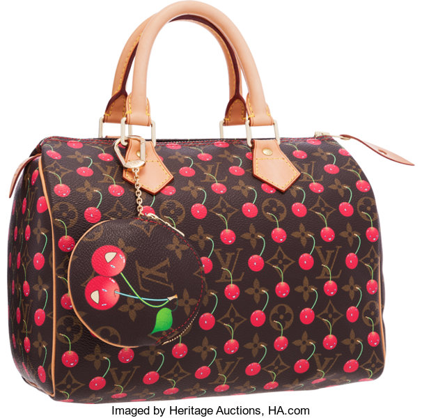 4885f0dfed454a ... Luxury Accessories:Bags, Louis Vuitton Limited Edition Monogram Canvas Cerises  Speedy 25 Bag& ...