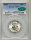 Washington Quarters, 1940 25C MS67+ PCGS. CAC....