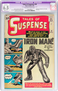 Silver Age (1956-1969):Superhero, Tales of Suspense #39 (Marvel, 1963) CGC Apparent FN+ 6.5 Slight(C-1) Off-white to white pages....