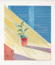 DAVID HOCKNEY (British, b. 1937) Sun, State I, 1973 Lithograph in colors 30-1/4 x 25-1/4 inches (76.8 x 64.1 cm) Ed