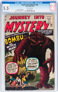 Silver Age (1956-1969):Horror, Journey Into Mystery #60 (Marvel, 1960) CGC FN- 5.5 Off-whitepages....
