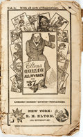 Books:Americana & American History, [Almanac]. Elton's Comic All-My-Nack for '37. New York: R.H.Elton, 1836. Twelvemo. Publisher's original self-wrappe...