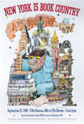 Memorabilia:Poster, New York is Book Country Poster Signed by Maurice Sendak(1998)....