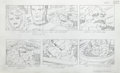 "Original Comic Art:Miscellaneous, Jack Kirby Fantastic Four ""The Menace of Magneto"" Storyboard#35 Original Animation Art (DePatie-Freleng, 1978)..."