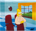 Animation Art:Production Cel, The Simpsons Grandpa Abe Simpson Production Cel Set-UpAnimation Art (Fox, 1990s).... (Total: 3 Original Art)
