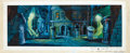 """Animation Art:Production Drawing, Slimer and the Real Ghostbusters """"Baby Spookums"""" KeyBackground Painted Illustration Animation Art (DiCEntertainment,..."""