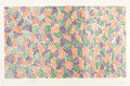 Prints:Contemporary, JASPER JOHNS (American, b. 1930). Scent, 1976. Lithograph,linoleum cut and woodcut in colors. 27-3/4 x 43-7/8 inches (7...