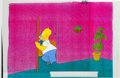 Animation Art:Presentation Cel, The Simpsons Homer Presentation Cel Animation Art (Fox,1990s)....
