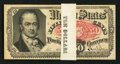 Fractional Currency:Fifth Issue, Fr. 1381 50¢ Fifth Issue Pack of 20 Notes New.. ... (Total: 20notes)