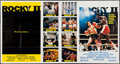 "Movie Posters:Sports, Rocky II (United Artists, 1979). International One Stop (41"" X 77""). Sports.. ..."