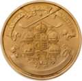 Golf Collectibles:Miscellaneous, Transvaal Golf Union Gold Winners Medal From Bobby Locke Estate....