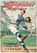 Books:Periodicals, [Baseball] [Periodical]. The Popular Magazine. 1914.Original pictorial wrappers. Front wrapper slightly over-opened...