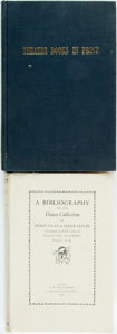 Books:Reference & Bibliography, [Bibliography] [Dance and Theater]. Two Bibliographies Relating toDance and Theatre. Various publishers, [1960s]. First edi...(Total: 2 Items)
