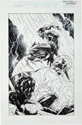 Original Comic Art:Splash Pages, Mark Buckingham and Rodney Ramos Peter Parker: Spider-Man#25 Splash Page 37 Original Art (Marvel, 2001)....