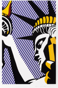 Prints:Contemporary, ROY LICHTENSTEIN (American, 1923-1997). I Love Liberty,1982. Screenprint in colors. 32-3/8 x 21-1/8 inches (82.3 x 53.6...