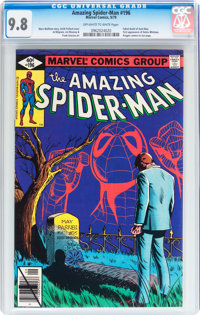 The Amazing Spider-Man #196 (Marvel, 1979) CGC NM/MT 9.8 Off-white to white pages