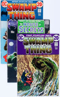 Bronze Age (1970-1979):Horror, Swamp Thing Group (DC, 1971-77) Condition: Average FN/VF....(Total: 12 Comic Books)