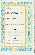 Books:Literature Pre-1900, [Limited Editions Club]. Honore Guilbeau, illustrator. SIGNED.George Meredith. The Shaving of Shagpat. New York: Th...