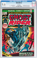 Bronze Age (1970-1979):Horror, Ghost Rider #1 (Marvel, 1973) CGC NM+ 9.6 White pages....