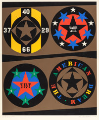 ROBERT INDIANA (American, b. 1928) The American Dream (from the Decade series), 1