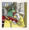 Prints, ROY LICHTENSTEIN (American, 1923-1997). Still Life with Lobster (from the Six Still Lifes series), 1974. Lithograph ...