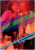 Books:Music & Sheet Music, David Dalton, editor. Rolling Stones: An Unauthorized Biography in Words and Photographs. [New York: Quick Fox, ...