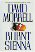 Books:Mystery & Detective Fiction, David Morrell. SIGNED. Burnt Sienna. [New York:] WarnerBooks, [2000]. First edition. Signed by the author. Publ...