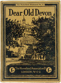Books:Art & Architecture, Dear Old Devon. Camera Pictures of the County. London: Homeland Association, 1929. Second edition. Octavo. Original wrap...