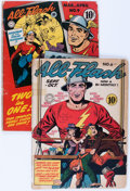 Golden Age (1938-1955):Superhero, All-Flash #6 and 9 Group (DC, 1942-43) Condition: Apparent GD.... (Total: 2 Comic Books)